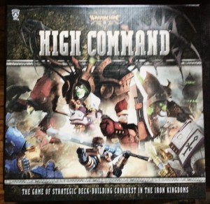 Warmachine: High Command, or finally a deck builder where there is direct conflict between the players