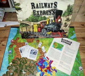 Trains! Tracks! Cubes! Cards? Dice?