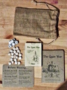The Quiet Year - this deluxe edition really goes above and beyond. The materials are really first rate.