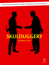 one day I'll spell Skulduggery right the first time