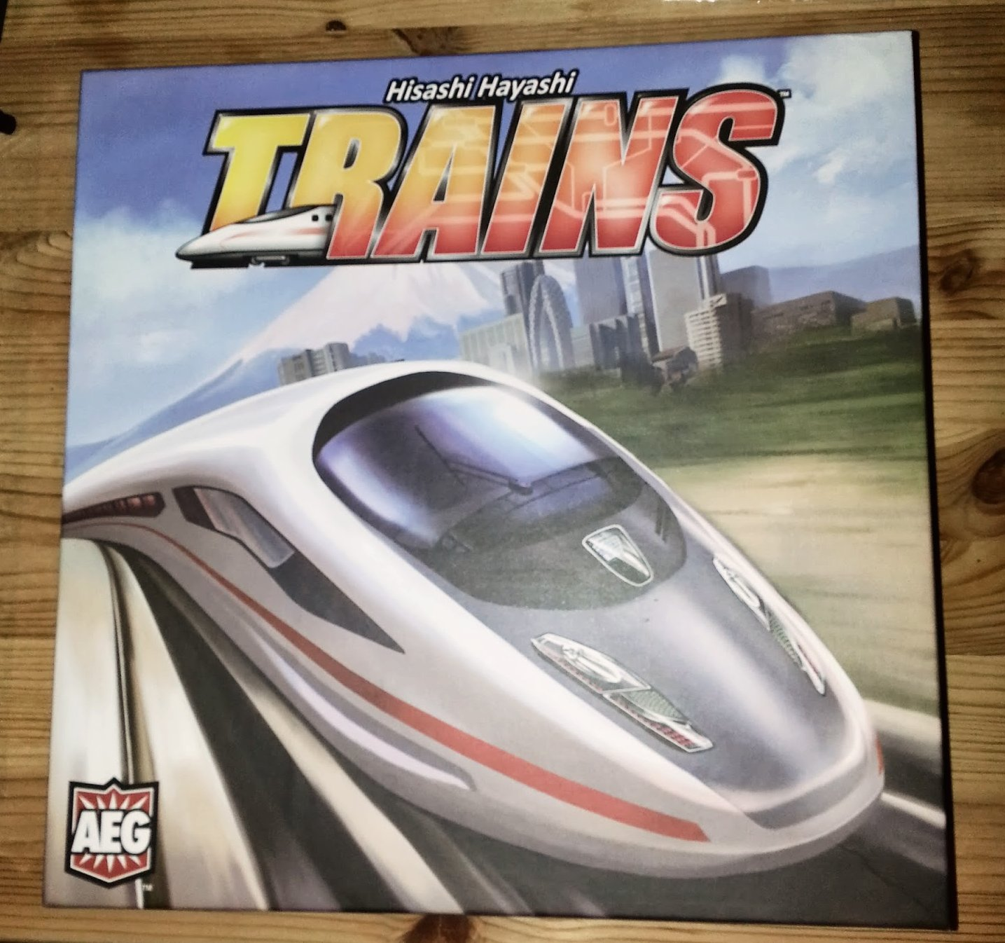 Trains: deck building comes to train games. What's more, there's a board in there!