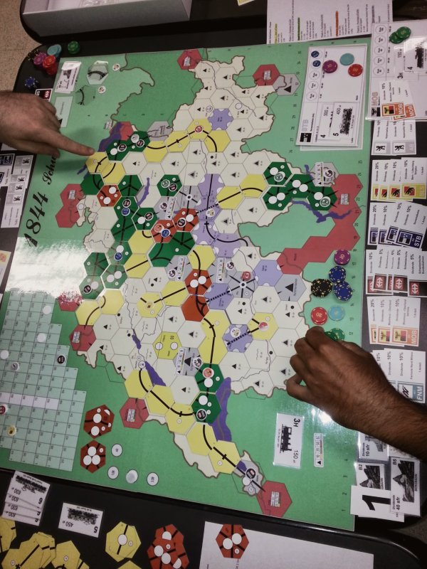 1844: End game. That's where I lost...