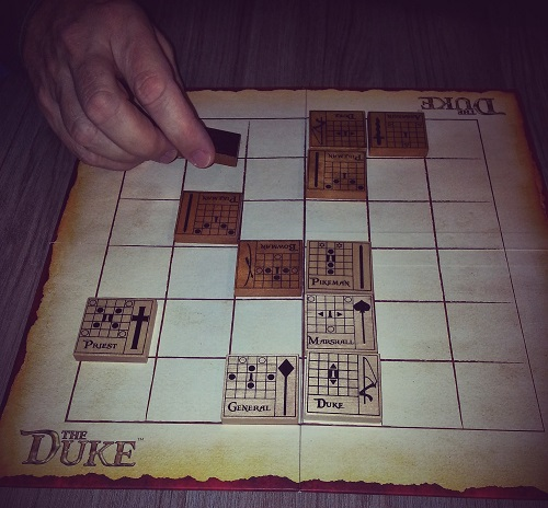 The Duke: Easy to learn... but oh so cruel...