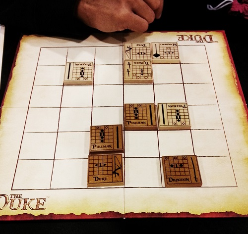 The Duke: Anshul's first game. He liked it even if it didn't end well...