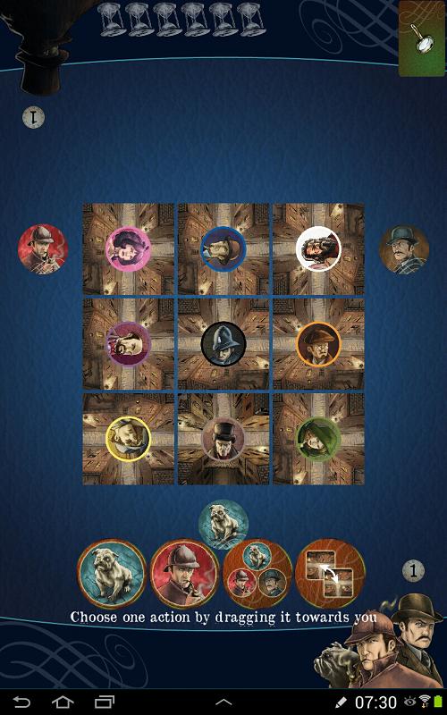 Mr. Jack Pocket (Android version) - the initial set up