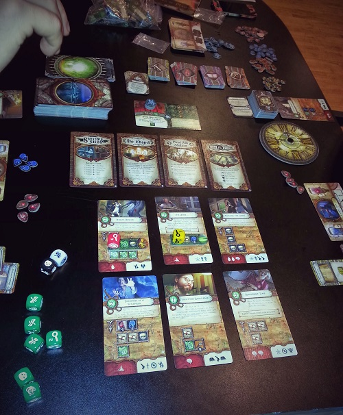 Elder Sign - or kicking but, old One style