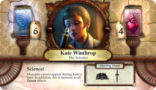 Elder Sign - An investigator card