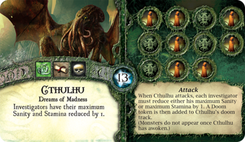 Elder Sign - Oh, Cthulhu, we weren't expecting you to come visiting...