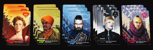 The Coup cards, all of them