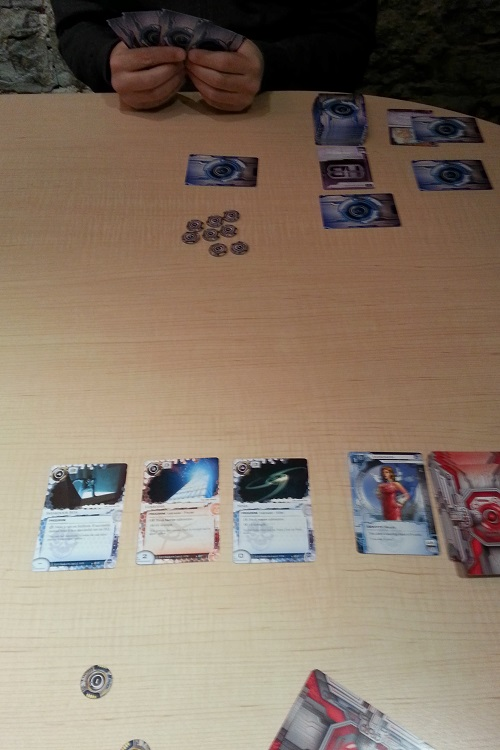 Android: Netrunner: not the most photogenic game, but it more than makes up with quality gameplay
