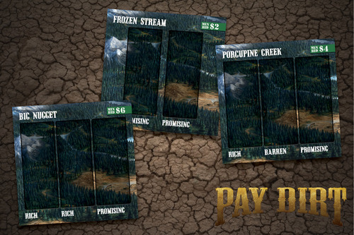 Pay Dirt - Claim tiles