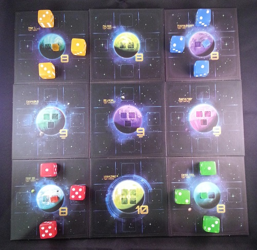 Quantum - Basic game for 4