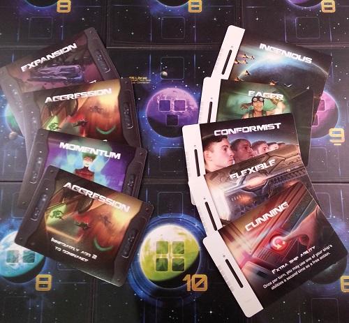 Quantum - Advance cards