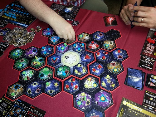 Hegemonic - A rare 4 player game