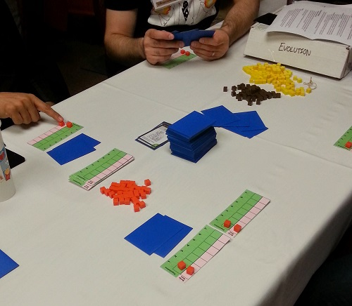 Evolution - 5 player game at Stack Academy, Le Quatrieme