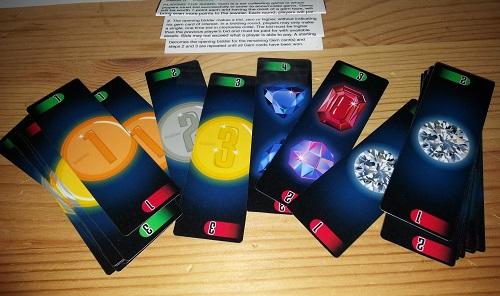 GEM - Coin cards and gem cards