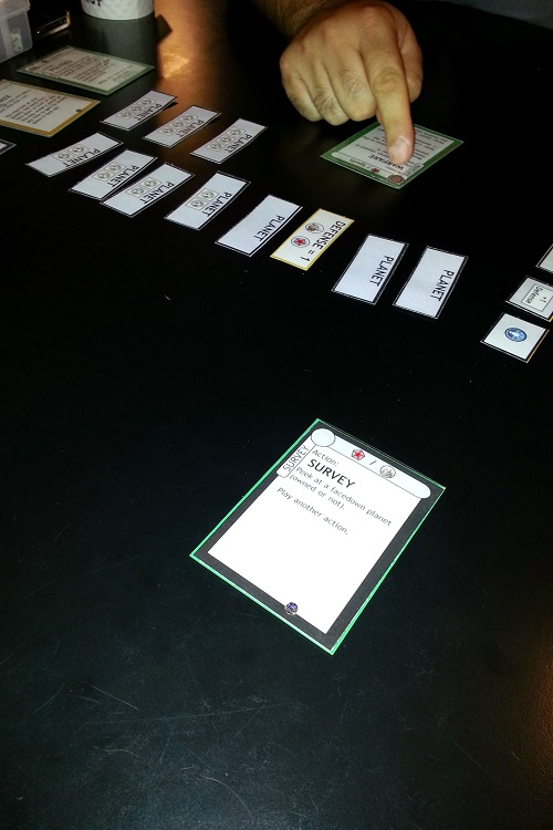 Eminent Domain: Microcosm - Playing an early prototype