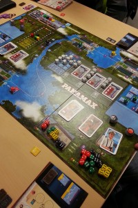 Panamax - moving cargo in South America